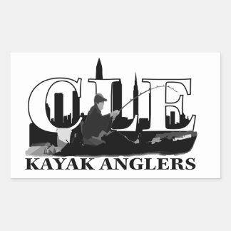 Pescadores del kajak de CLE Rectangular Altavoces