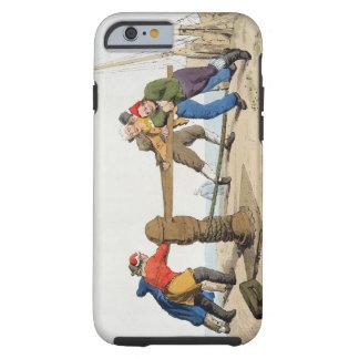 Pescadores en un cabrestante, del 'traje de gran funda de iPhone 6 tough