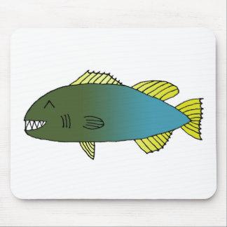 Pescados 2014 de Bitey Mouse Pad