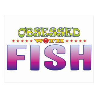 Pescados 2 obsesionados tarjetas postales