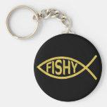 Pescados a pescado llavero redondo tipo pin