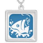 Pescados afortunados de la pesca de Fishermans de