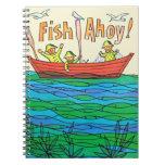 ¡Pescados Ahoy! Libro De Apuntes Con Espiral