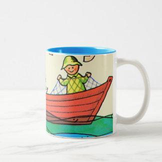 ¡Pescados Ahoy! Taza De Café