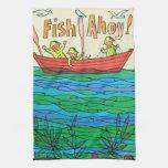 ¡Pescados Ahoy! Toalla