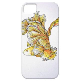Pescados anaranjados y amarillos funda para iPhone SE/5/5s