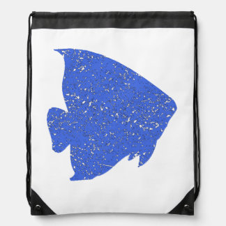 Pescados apenados del ángel azul mochilas