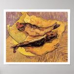 Pescados - arenques ahumados de Vincent van Gogh Impresiones