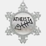 Pescados ateos adorno