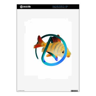 Pescados ateos iPad 2 skins