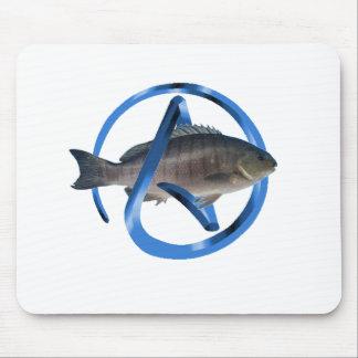 Pescados ateos alfombrillas de raton