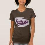 pescados atlánticos de los abadejos de los camiseta
