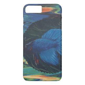 Pescados azules de Betta Funda iPhone 7 Plus