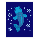 Pescados azules de Koi Comunicados
