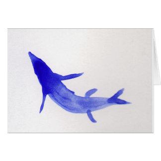 Pescados azules de Koi Tarjetas