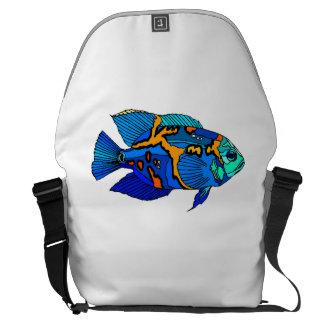 Pescados azules de Óscar Bolsas De Mensajeria