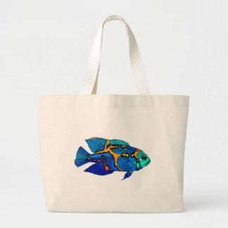 Pescados azules de Óscar Bolsas Lienzo
