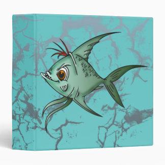 "Pescados azules del Guppy Carpeta 1 1/2"""