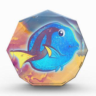Pescados azules lindos de Tang