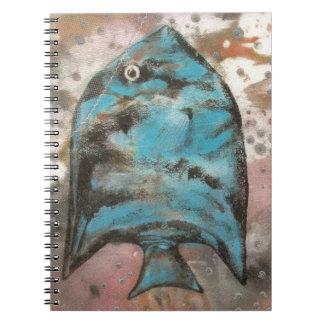 pescados azules note book