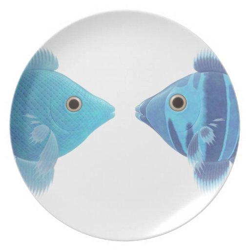 pescados azules plato para fiesta