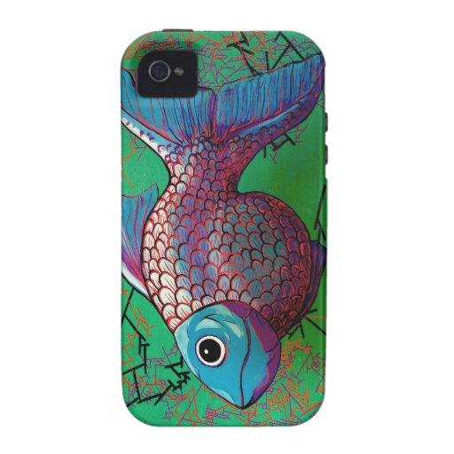 Pescados beta iPhone 4 carcasa