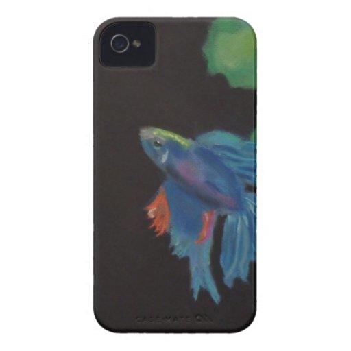 pescados beta iPhone 4 Case-Mate carcasas
