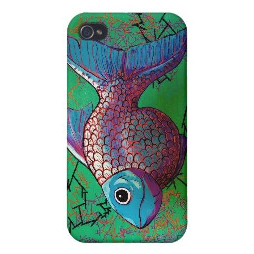 Pescados beta iPhone 4/4S fundas