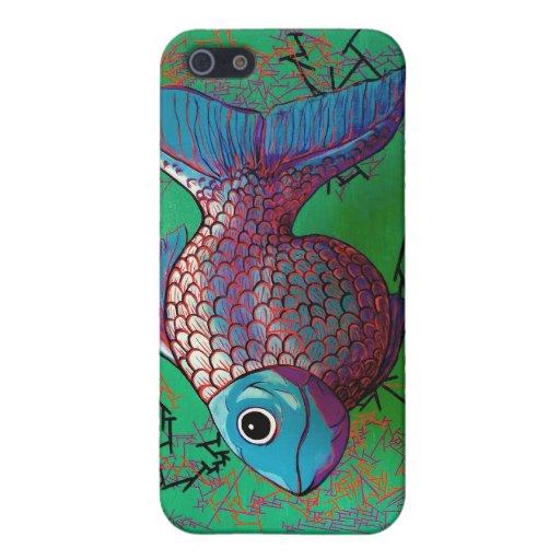 Pescados beta iPhone 5 carcasa