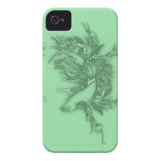 Pescados beta verdes carcasa para iPhone 4