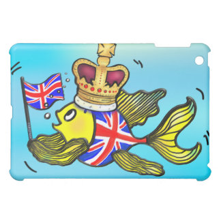 Pescados británicos de la bandera que llevan un
