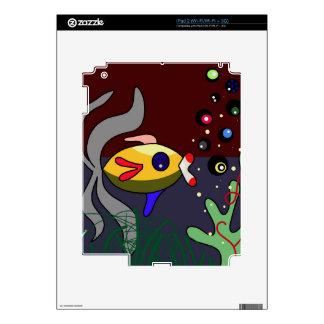 Pescados Calcomanía Para iPad 2