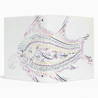 """Pescados caligráficos 1845 carpeta 1"""""""