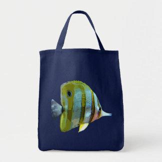 Pescados Cobre-Congregados de la mariposa Bolsa De Mano