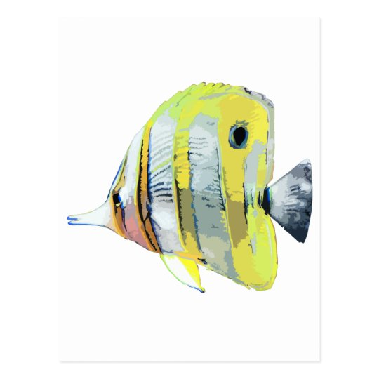 pescados Cobre-congregados de la mariposa Postales