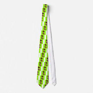 Pescados coloridos corbata personalizada