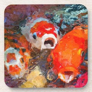 Pescados coloridos de Koi Posavaso