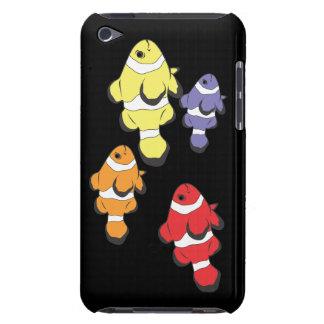 Pescados coloridos iPod touch fundas