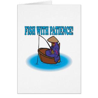 Pescados con paciencia felicitaciones