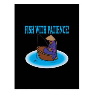Pescados con paciencia postal