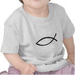 Pescados cristianos camisetas