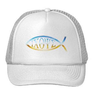 Pescados cristianos gorras