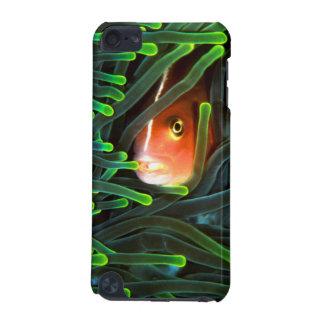 Pescados de anémona que ocultan en la anémona, funda para iPod touch 5G