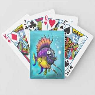 Pescados de arco iris baraja cartas de poker
