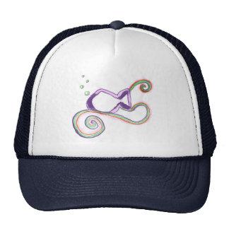 Pescados de arco iris gorras