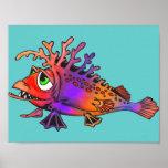 Pescados de arco iris posters