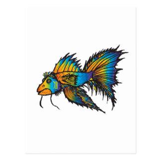 Pescados de arco iris postal