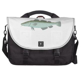 Pescados de bacalao bolsas de portatil