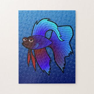 Pescados de Betta del dibujo animado/pescados que  Puzzles