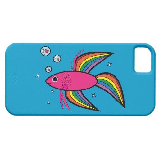 Pescados de Betta iPhone 5 Cobertura